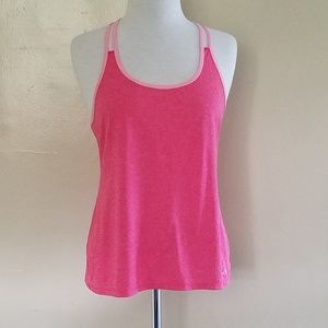 Champion Mesh-like T-back Tank Top. PINK!